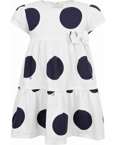 Хлопковое белое платье Il Gufo