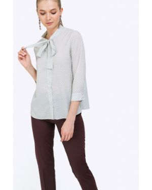 Блузка розовая с манжетами Emka