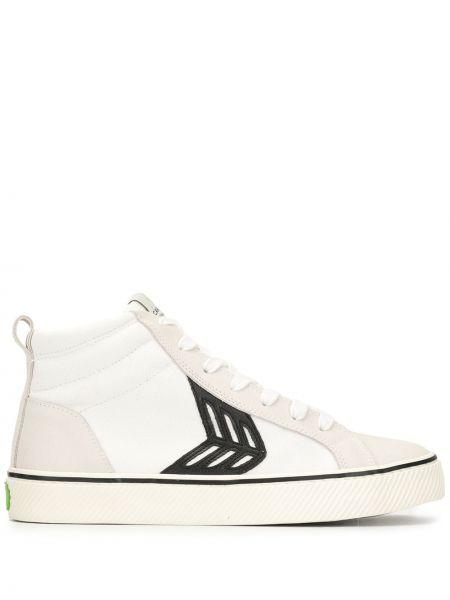 Sneakersy wysokie - białe Cariuma