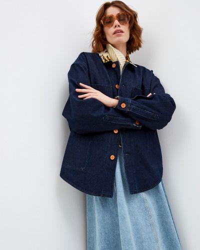 Джинсовая куртка - синяя Philosophy Di Lorenzo Serafini