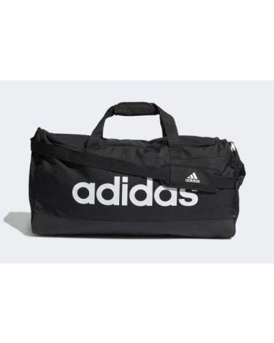 Czarna torebka materiałowa Adidas