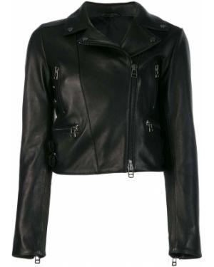 Куртка черная байкерская Sly010