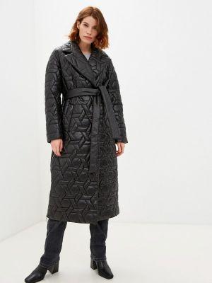 Черная утепленная куртка Avalon