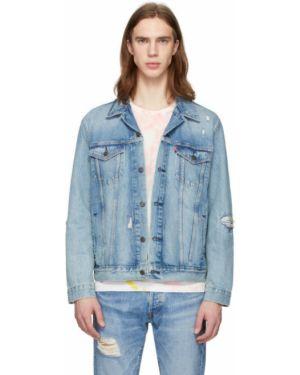 Джинсовая куртка длинная с логотипом Levi's®