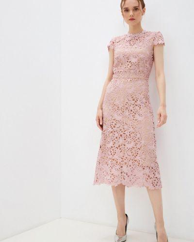 Розовое зимнее платье Rich & Naked