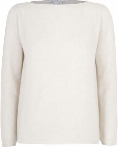 Biały sweter Agnona