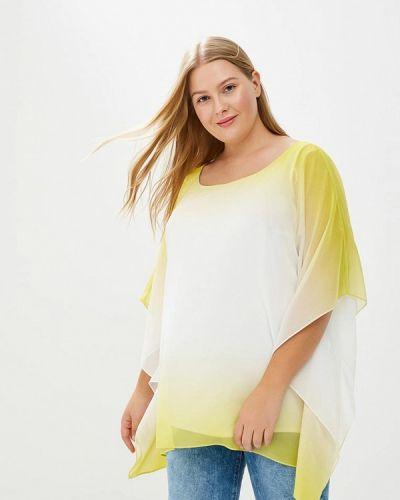 Желтая блузка осенняя Evans