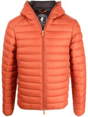 Стеганая куртка - оранжевая Save The Duck