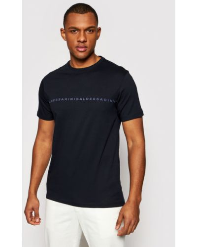 T-shirt granatowa Baldessarini