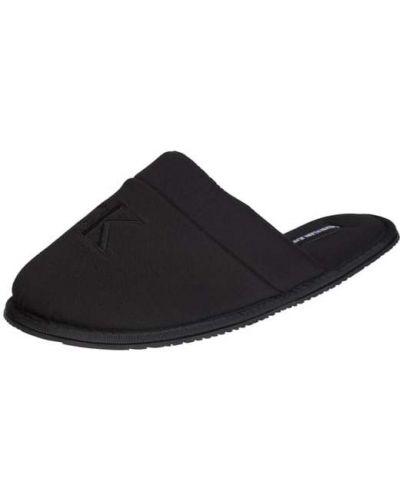 Kapcie materiałowe - czarne Ck Calvin Klein