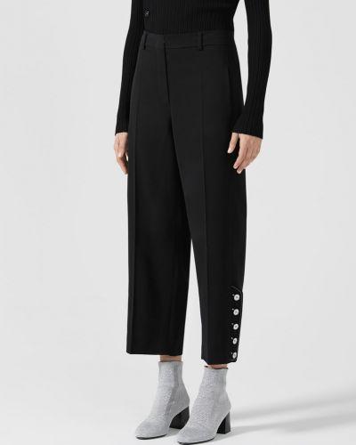 Прямые брюки - черные Maxmara