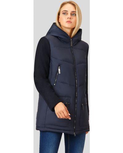 Утепленная куртка синий темно-синяя Finn Flare