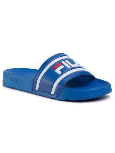 Niebieskie sneakersy Fila