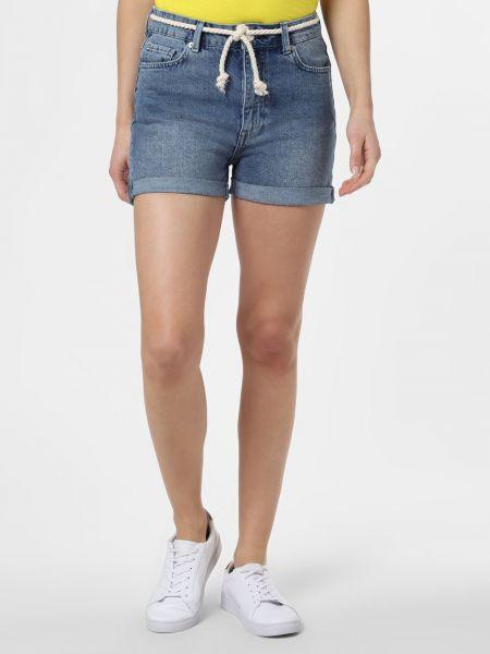 Szorty jeansowe - niebieskie Minimum