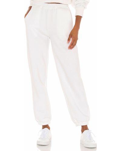 Bawełna biały majtki z kieszeniami z haftem Atoir