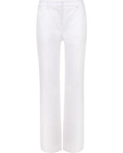 Классические брюки летние расклешенные укороченные Emilio Pucci