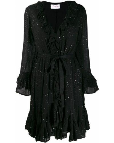 Платье макси платье-сарафан с длинными рукавами Sundress