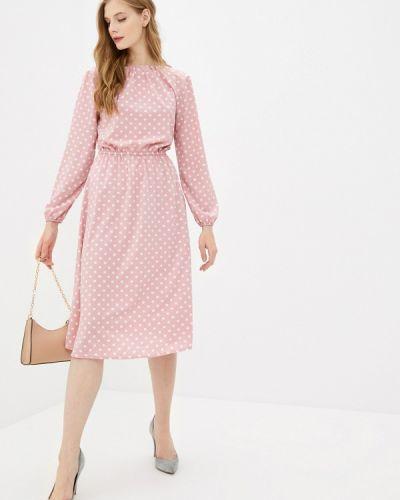 Прямое розовое платье Froggi