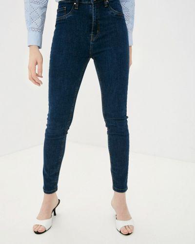 Синие джинсы-скинни узкого кроя Pink Woman