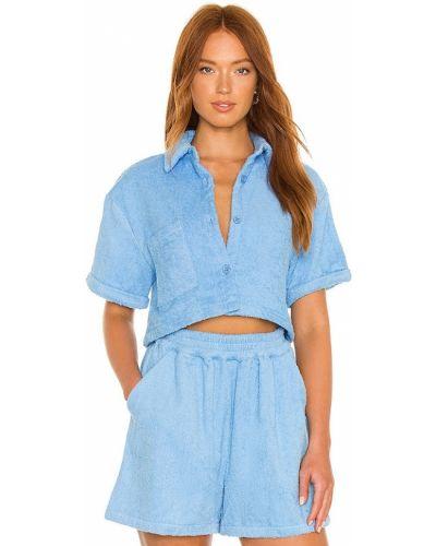 Niebieska koszula bawełniana Atoir