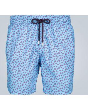 Синие шорты для плаванья с карманами Vilebrequin