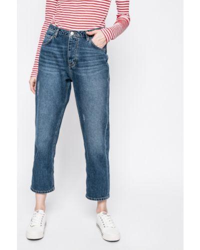 Прямые джинсы на пуговицах с поясом Mustang
