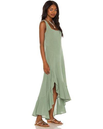 Zielona sukienka bawełniana Tularosa