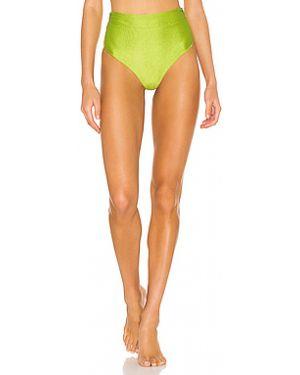 Зеленый мерцающий купальник с декоративной отделкой Lovers + Friends