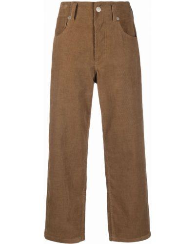 Укороченные брюки - коричневые Sofie D'hoore