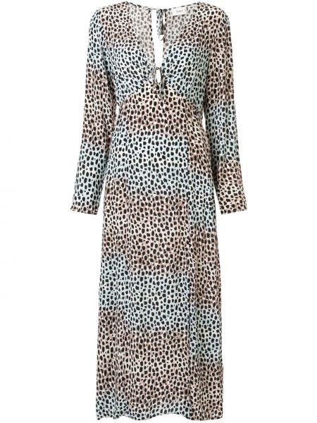 Платье макси с длинными рукавами Suboo