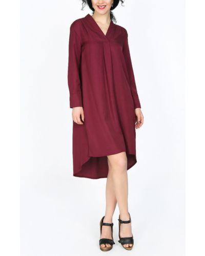Платье на пуговицах с V-образным вырезом Glam Casual