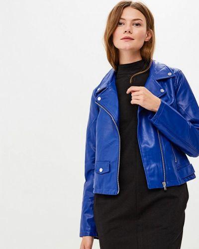 Синяя осенняя куртка Befree
