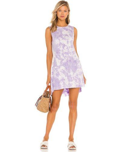 Трикотажное платье - фиолетовое Michael Lauren