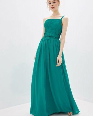 Вечернее платье бирюзовый осеннее Amour Bridal