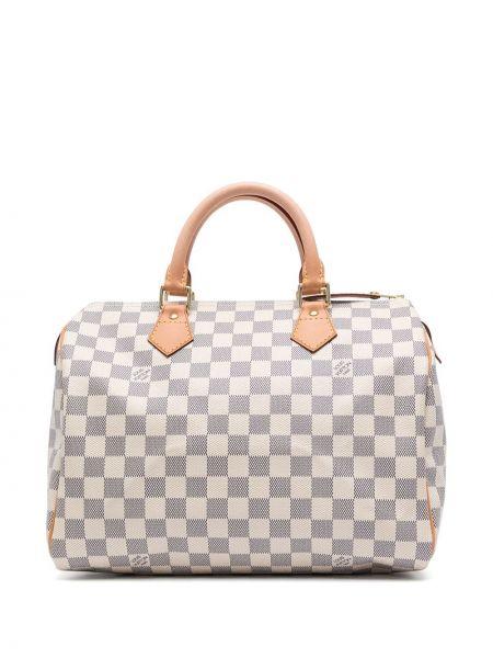 Biała torebka skórzana Louis Vuitton
