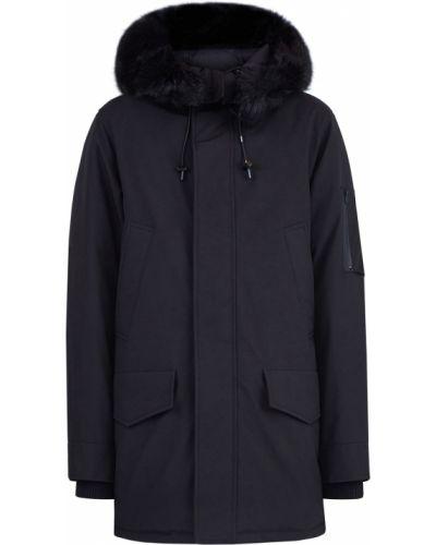 Утепленная куртка с капюшоном нейлоновая Kenzo