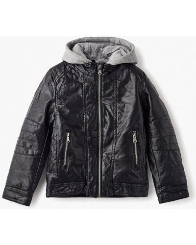 Черная куртка теплая Modis