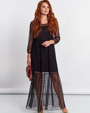 Вечернее платье платье-комбинация сетчатое Jetty