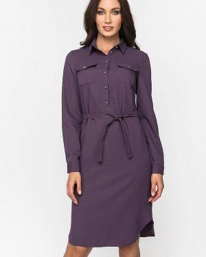 Платье с длинными рукавами осеннее Gloss