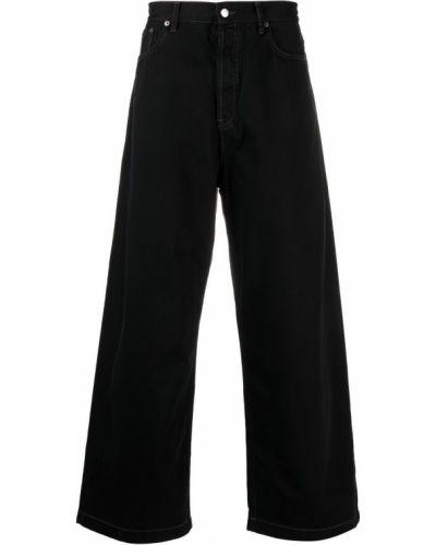 Klasyczne czarne jeansy bawełniane Acne Studios