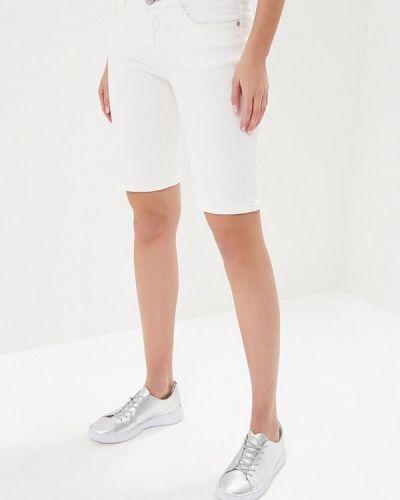 Белые джинсовые шорты H.i.s