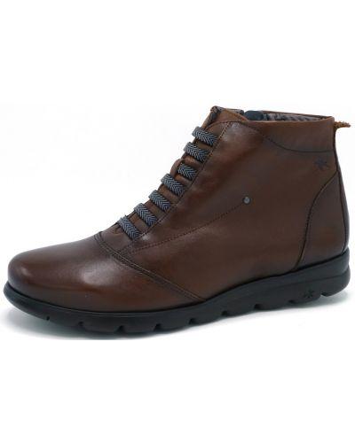 Ботинки - коричневые Fluchos