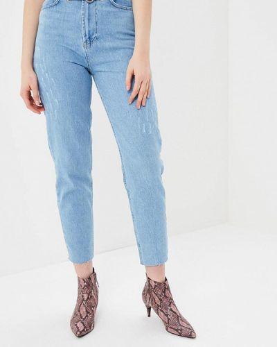 Голубые джинсы с высокой посадкой Lime