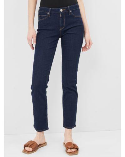 Синие джинсы-скинни с карманами узкого кроя Lee