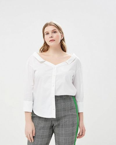 Белая блузка Violeta By Mango