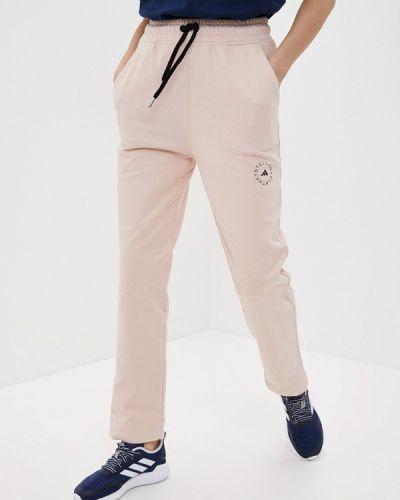 Розовые спортивные брюки Adidas By Stella Mccartney