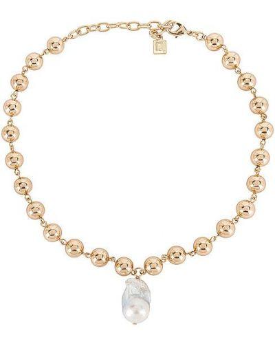 Złoty naszyjnik z pereł Dannijo