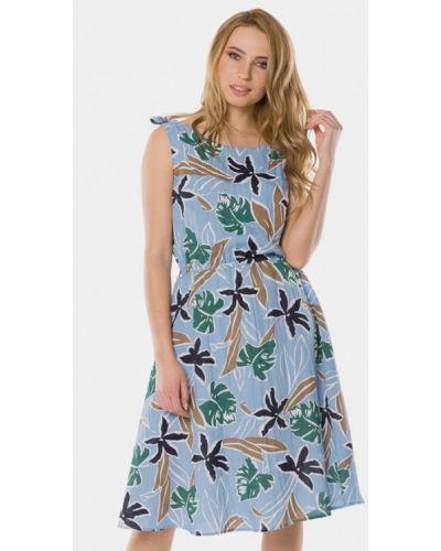 Голубое платье весеннее Mr520