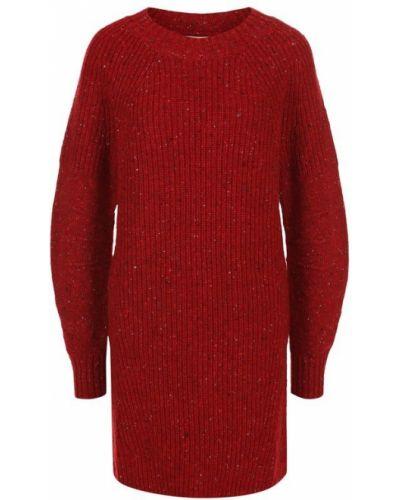 Платье мини платье-рубашка вязаное Burberry