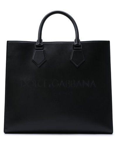 Черная сумка с логотипом Dolce & Gabbana